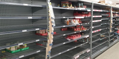 Countdown Empty Shelves